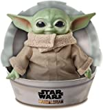 Mattel GWD85 Star Wars The Child Plush Toy, 11-inch Baby Yoda Soft Figure from The Mandalorian