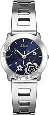 s.Oliver Damen-Armbanduhr SO-1957-MQ