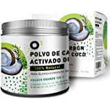 O³ Carbon Activo Dientes FRASCO GRANDE 100g - Blanqueador Dental Carbon Activado - Blanqueador Dental De Carbón Activo - Blan