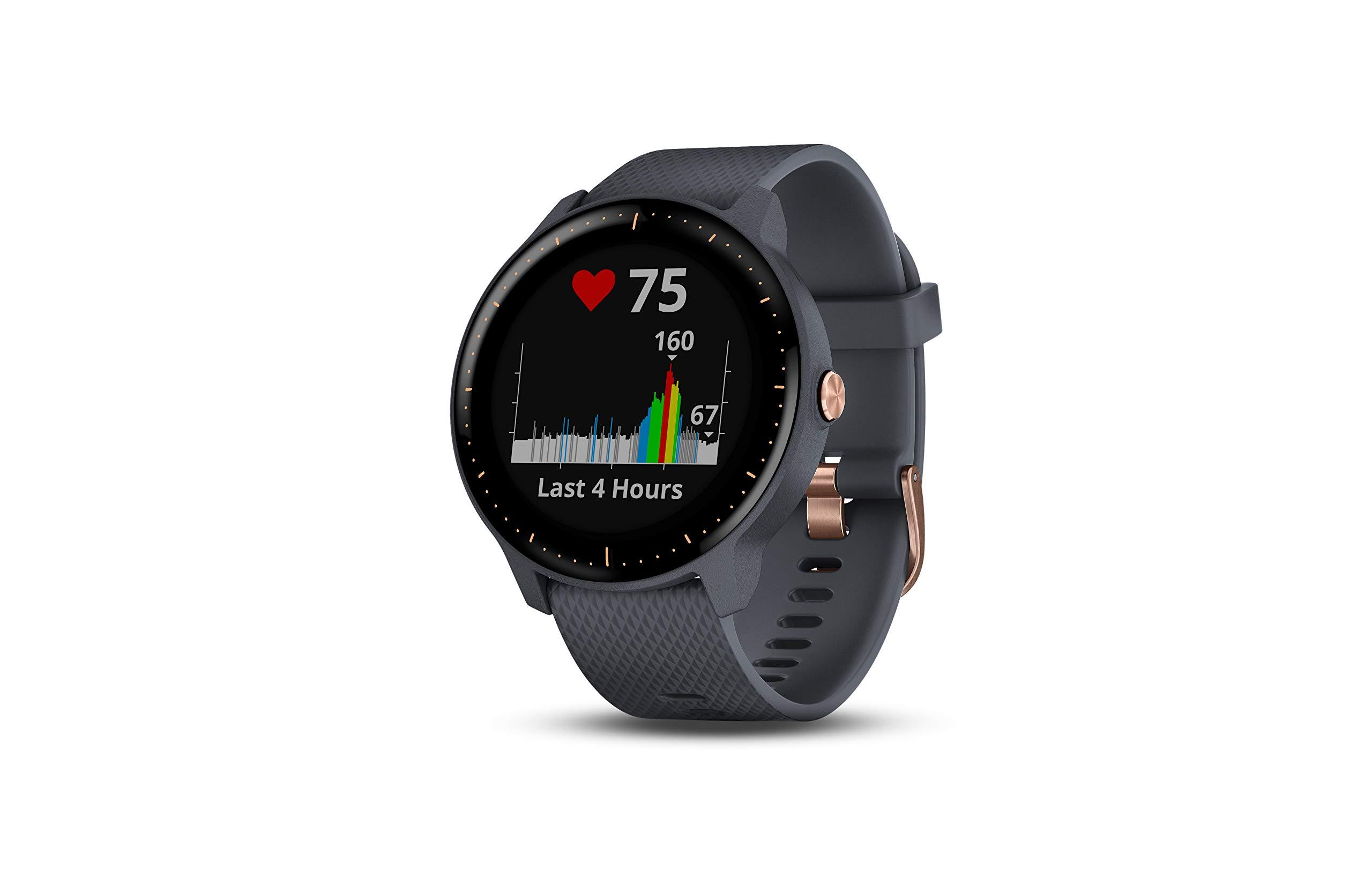 Garmin Smartwatch Vivoactive 3 Music GPS Mano Ciclismo Unisex Adulto, Azul