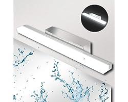 Lampe Miroir Salle de Bain Ketom Lampe pour Miroir LED 9W 900LM Miroir Lumineux Led IP44 Applique Salle de Bain Blanc Neutre