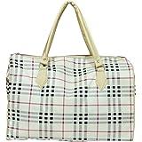 RESKA Women's Tote Bag (RESKA Travel Duffle Bag_White)
