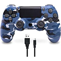 Wireless Controller für PS4, Wireless Controller kompatibel für Playstation 4/PS4 Slim/PS4 Pro, Wireless Controller mit…