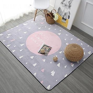 Amazonde Creative Light Nordic Modern Teppich Sofa Couchtisch Wohnzimmer Schlafzimmer