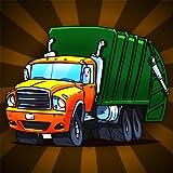 ville camion à ordures élimination course folle: nettoyer la ville - édition gratuite