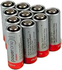 10x Varta V23ga Microbattery A23 Mn21 12 Volt Elektronik