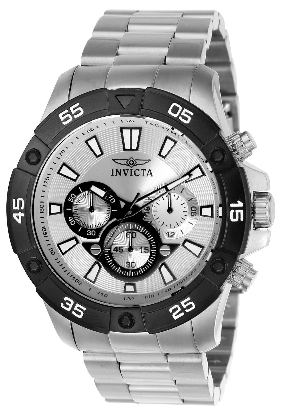 Invicta 22788 Pro Diver Reloj para Hombre acero inoxidable Cuarzo Esfera plata