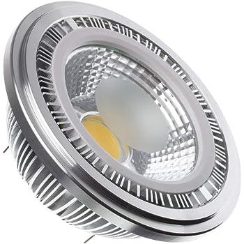 Bombilla LED AR111 COB 9W Blanco Cálido 3000K efectoLED