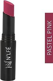 NELF Powder Matte Lipstick, Pastal Pink, 3 g