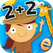 Juegos De Matemáticas De Los Animales Para Los Niños Con Habilidades Gratis: Los Mejores Números De Pre-K, Kin