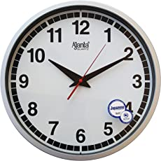 Ajanta Wall Clock For Home And Office(Silent Movement)