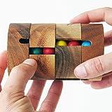 REVOLVE - Réussir à aligner une seule couleur par verticale - jeu casse tête à partir de 8 ans difficulté 2/6. En bois…