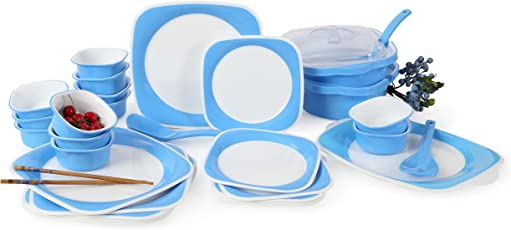Joy Home Microwave Safe Dinner Set - 32 Pcs