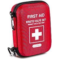 FLEXEO Erste Hilfe Set Traveller ideal für Outdoor, Reisen, Motorradfahren und Sport nach DIN 13167
