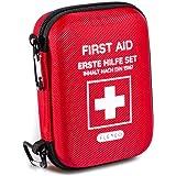 Kit di pronto soccorso Viaggiatore ideale per l'outdoor, i viaggi, il motociclismo e lo sport secondo la norma DIN 13167