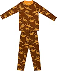 Ventra Boys Nightwear Dinosaurus Yellow