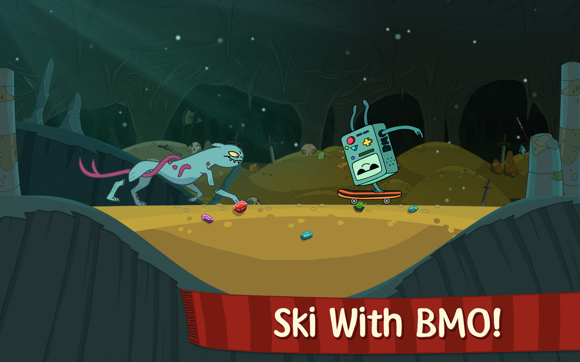 Ski Safari: Adventure Time Screenshot