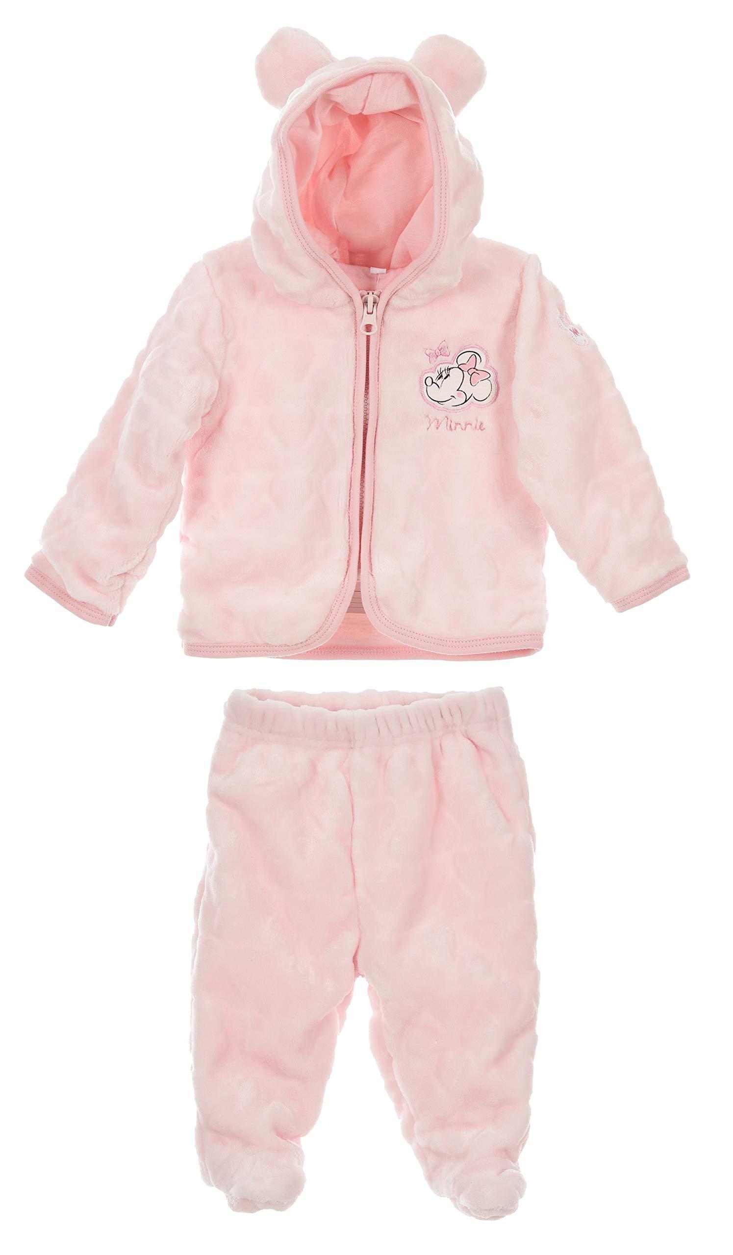 Minnie Mouse bebé-niñas Juntos Abrigo y Pantalones 1