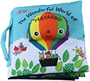 Baby Cloth Book Cute Crinkly Animal Book Baby Intelligence Development Learning Baby Toy Balloon