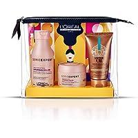 L'Oréal Professionnel Paris Pochette con Travel Sizes, routine professionale di protezione colore e morbidezza - 225 ml