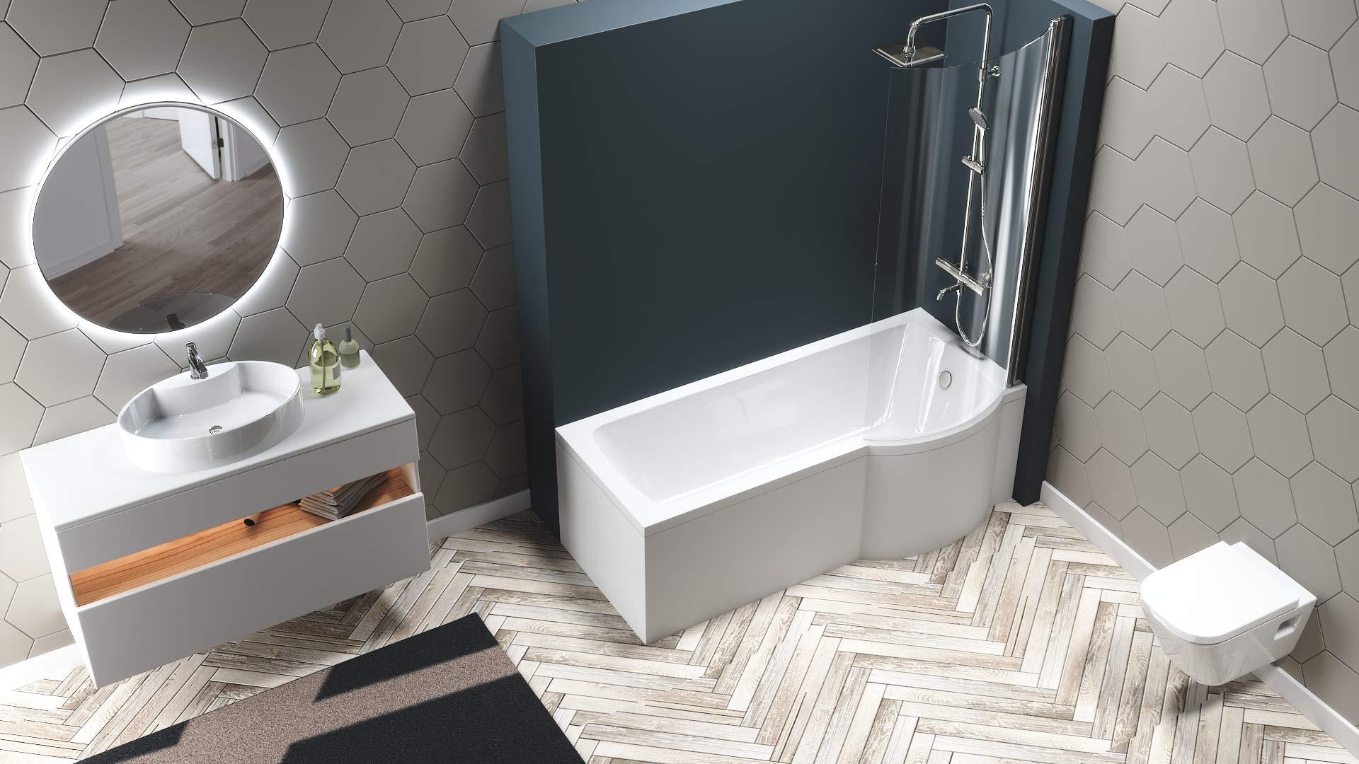 Vasca Da Bagno 170 70 : Vasca da bagno idromassaggio box easy doccia cristallo