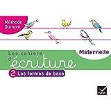 Les cahiers d'écriture - Maternelle MS, GS Éd. 2020 - Cahier n°2 : Les formes de base