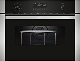 Neff C1AMG83N0B Compact Height Built-in Combination Microwave Oven with - Stainless Steel