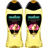 Palmolive Bodywash Luminous Oils Invigorating Shower Gel - 250ml Bottle (Pack of 2)
