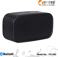 Yoroto Yo 580 Bluetooth Speaker with Built in Fm Radio Memory Card and Pendrive Slot (Colour May Vary)