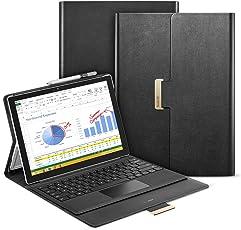 ESR Intelligent Series Folio Stand Case for Surface Pro 4 (2015) & Surface Pro (2017) (Black)