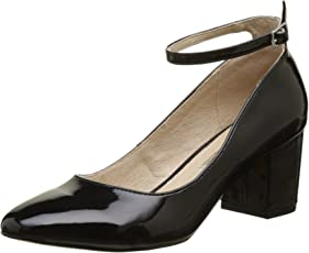 Buffalo Damen 15p54-1 PU Patent Pumps