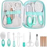 LinStyle Set para Cuidado del Bebé, 8 Piezas Kit de Manicura, Kit de Aseo para Bebés, Accesorios Bebe para Viaje y el Uso Dia