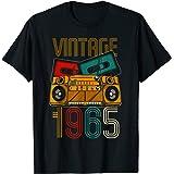 56 Anniversaire Homme Femme 56 Ans Vintage 1965 T-Shirt