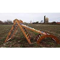 Triangolo Pikler Set da arrampicata ideale per bambini da 1 a 3 anni