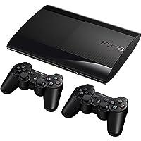 PlayStation 3 - Konsole Super Slim 12 GB (inkl. 2 x DualShock 3 Wireless Controller)