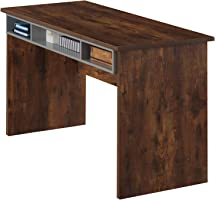 Maison Concept Wooden Desk, Brown - H 760 mm x W 600 mm x D 1200 mm