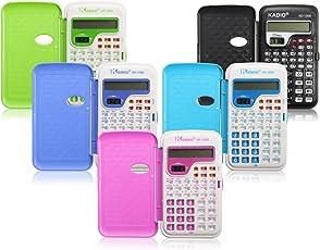 Rishil World Candy Color Office Mini Scientific Calculator School Student Function Calculator