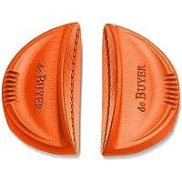 De Buyer 8360.30 Lot de 2 Anses Amovibles Silicone Oranges