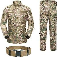 H World Shopping Uomo Tactical BDU Uniforme Giacca Camicia e Pantaloni Tuta per Esercito Militare Airsoft Paintball…
