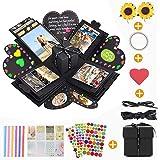 KIPIDA Explosion Box,Photo Scrapbook Creative DIY Album La Confezione Regalo per Anniversario,Regali di nozze,Compleanno,Matr