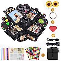 Boite Photo Surprise,KIPIDA Boite Surprise,Coffret Cadeau Surprise,DIY Mémoire Box,idées de cadeaux de mariage,Creative…