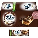 Fitness Barretta di Cereali Integrali con Cioccolato Fondente, 24 x 22.5g