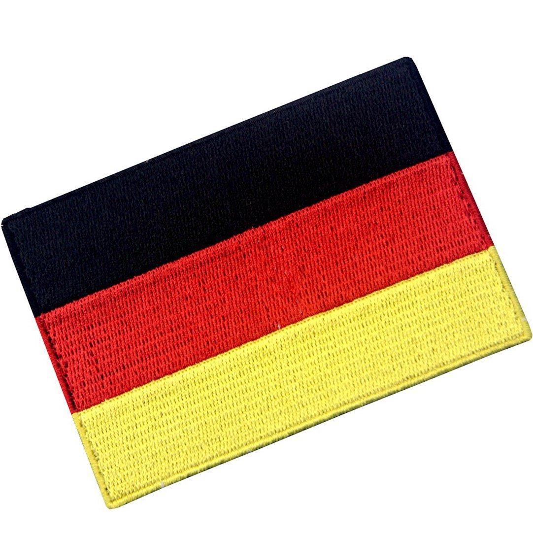 Deutschland Flagge Deutsches Nationales Emblem Bestickter Aufnäher zum Aufbügeln/Annähen