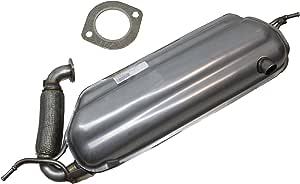 Original Smart Endschalldämpfer Mit Dichtung Auspuff 451 A1324900015 Auto
