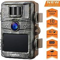 """【2020 Upgrade】Campark Wildkamera 16MP 1080P No Glow Night Vision 940nm Überwachungskamera Jagdkamera Sicherheit Bewegungsaktivierte Kamera mit 2.4 """"LCD und IP66 Wasserdich"""