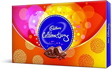 Cadbury Celebrations Assorted Chocolates Gift Box, 114.8 gm (Pack of 5)