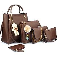 Mammon women's Handbag combo (set of 5)