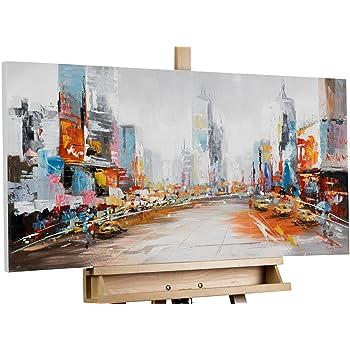 KunstLoft® Acryl Gemälde 'Metamorphose' 140x70cm