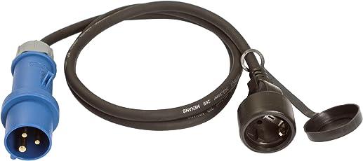 as-Schwabe 60488 Adapterleitung 230V / 16A / 3polig, 1,5m Gummischlauchleitung