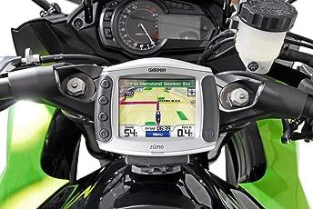 SW-Motech GPS.08.646.10300/B Navi-Halter am Lenker, Kawasaki Versys 650 (2007-2009)/(2015-), Schwarz